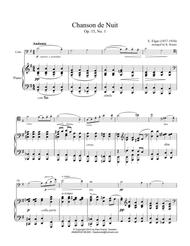 Chanson de Nuit for cello and piano