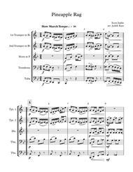 Pineapple Rag - for brass quintet