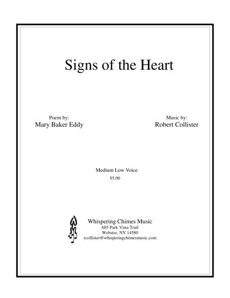 Signs of the Heart medium low voice
