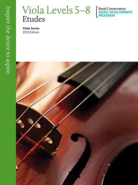 Viola Series: Viola Etudes 5-8
