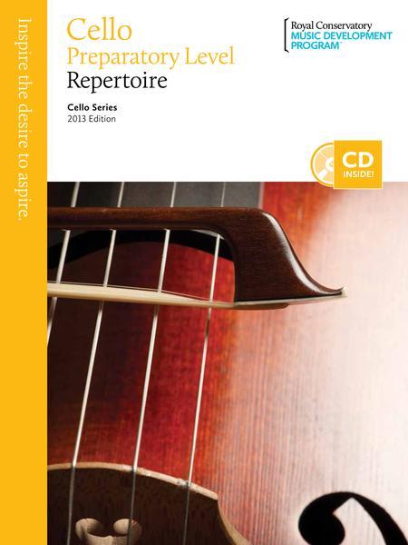 Cello Series: Cello Preparatory Repertoire