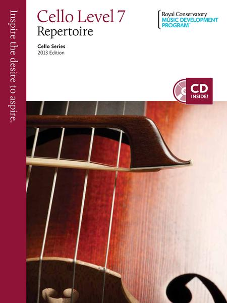 Cello Series: Cello Repertoire 7