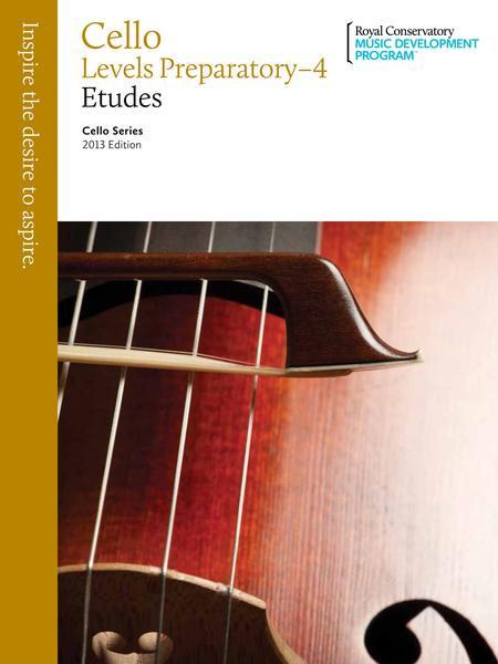Cello Series: Cello Etudes Prep-4