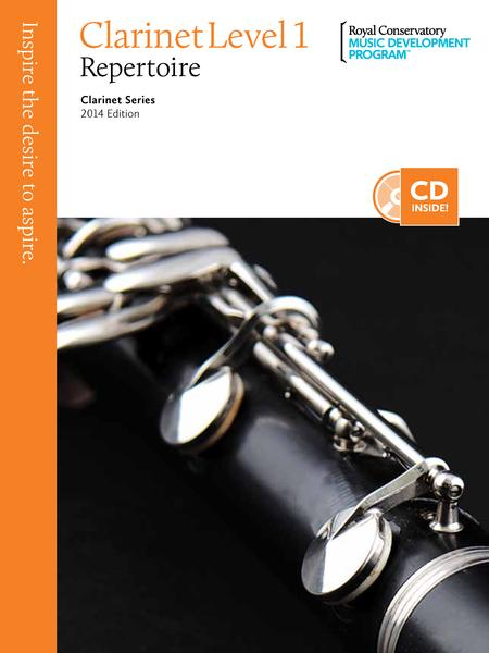 Clarinet Series: Clarinet Repertoire 1