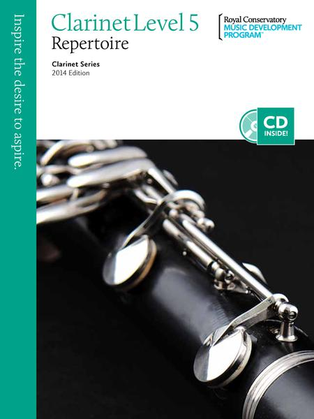 Clarinet Series: Clarinet Repertoire 5