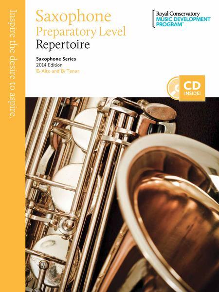 Saxophone Series: Saxophone Preparatory Repertoire