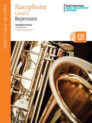 Saxophone Series: Saxophone Repertoire 1