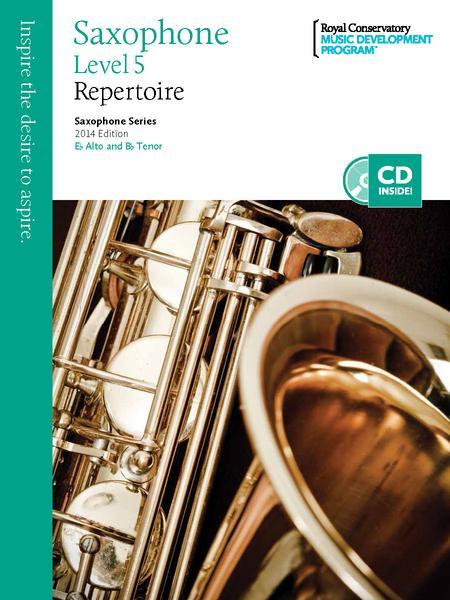 Saxophone Series: Saxophone Repertoire 5