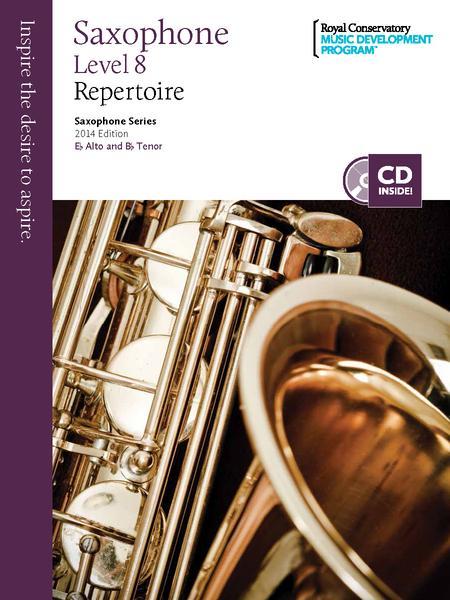 Saxophone Series: Saxophone Repertoire 8