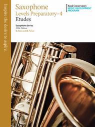 Saxophone Series: Saxophone Etudes Prep-4