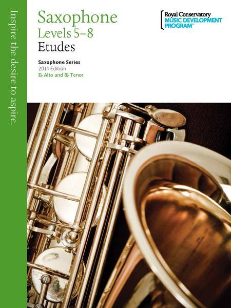 Saxophone Series: Saxophone Etudes 5-8