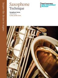 Saxophone Series: Saxophone Technique