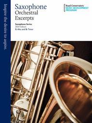 Saxophone Series: Saxophone Orchestral Excerpts