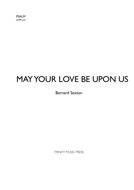 May Your Love Be Upon Us (Psalm 32)