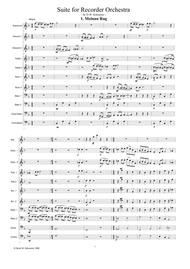 Suite for recorder orchestra