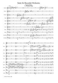 Meinau Rag for recorder orchestra