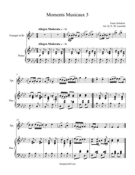 Moments Musicaux 3