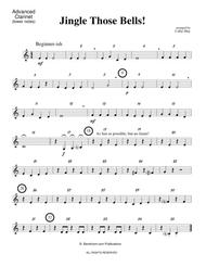 JINGLE THOSE BELLS! (beginner concert band - Winter concert - super easy - score, parts, & license to copy)