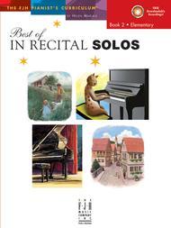 Best of In Recital Solos, Book 2