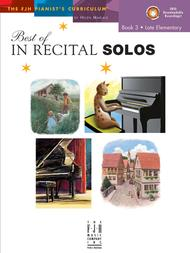 Best of In Recital Solos, Book 3 (NFMC)