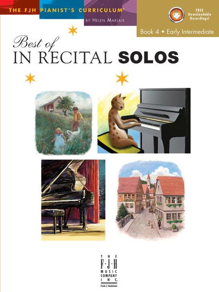 Best of In Recital Solos, Book 4 (NFMC)