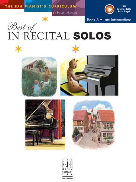 Best of In Recital Solos, Book 6 (NFMC)