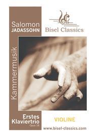 Erstes Klaviertrio, Opus 16 - Violin Part