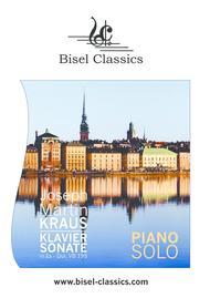 Klaviersonate in Es-Dur, VB 195