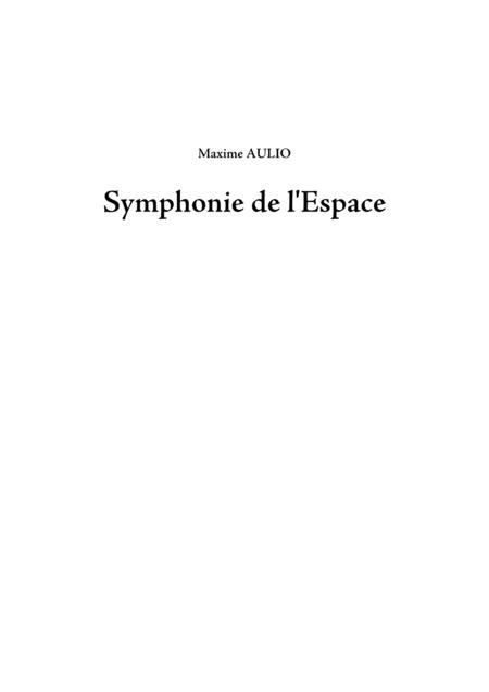 Symphonie de l Espace (Symphony of Space) - 1.Et facta est lux - SCORE