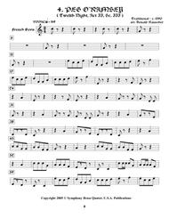 Shakespearean Music for Brass Quintet - 4. Peg o'Ramsey - Twelfth Night (French Horn)