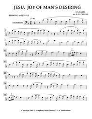 Easter Music - 2. JESU, Joy of Man's Desiring (Trombone) [same arrangement as in collection titled