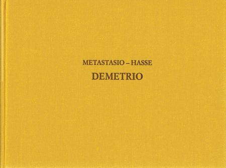 Demetrio - Drammaturgia Musicale Veneta 17