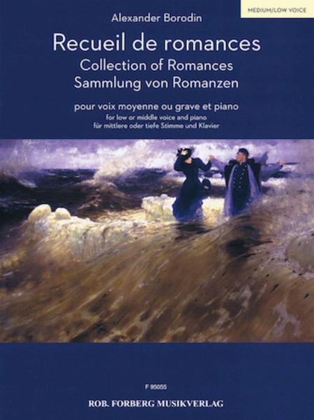 Recueil de Romances - Low/Middle Voice