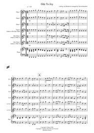 Ode To Joy for Flute Quartet