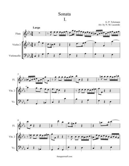 Sonata in C Minor Movement I
