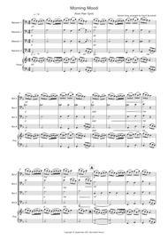 Morning Mood (from Peer Gynt) for Bassoon Quartet