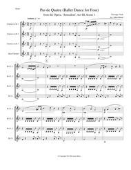 Verdi - Ballet Music for clarinet quartet (Jerusalem, Act III)