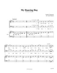 My Dancing Day (SATB)