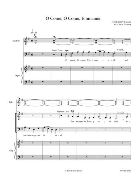 O Come, O Come, Emmanuel (SATB - setting 1)