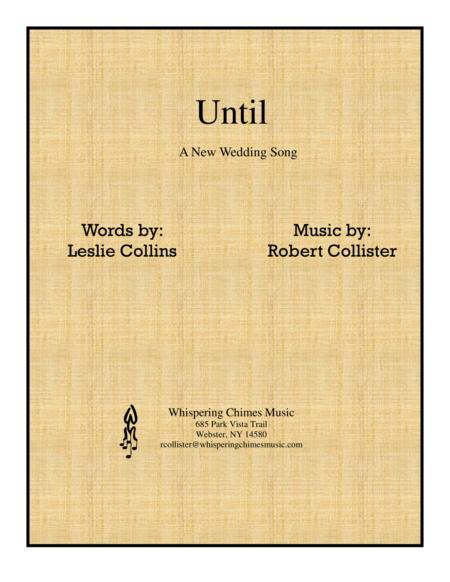Until (A New Wedding Song)