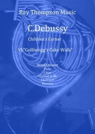 Debussy: Children's Corner Mvt.6 Golliwog's Cake Walk - wind quintet