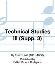 Technical Studies III (Supp. 3)
