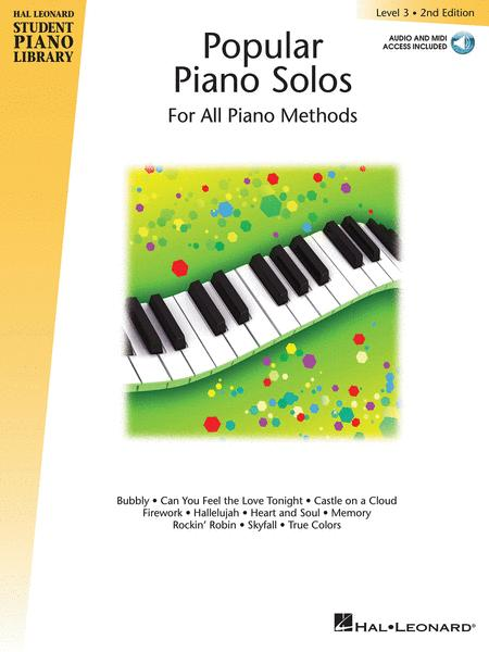 Popular Piano Solos 2nd Edition -\|Level 3