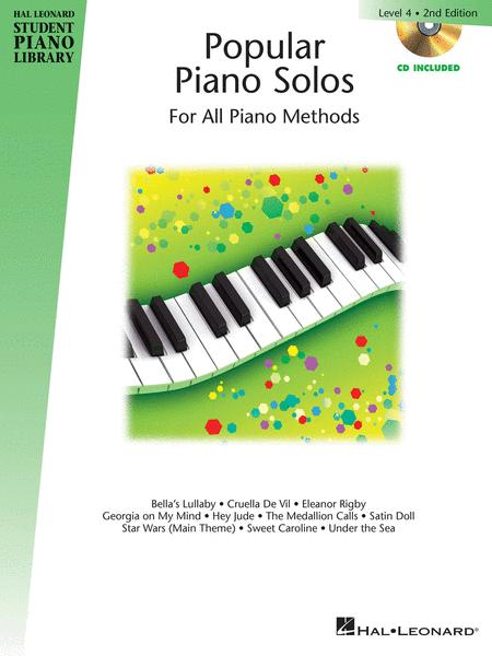 Popular Piano Solos 2nd Edition - Level 4