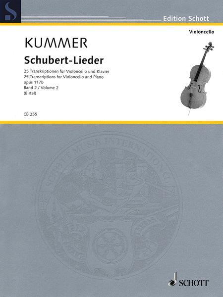 Schubert-Lieder op. 117b Band 2