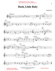 Intermediate Music for Four, Volume 1 Part 2 Clarinet or Trumpet in Bb