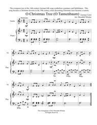 O Tannenbaum Karaoke.Download Chirstmas Duets For Violin Piano O Christmas Tree O