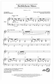 Download Bethlehem Skies Sheet Music By Dara MacLean - Sheet