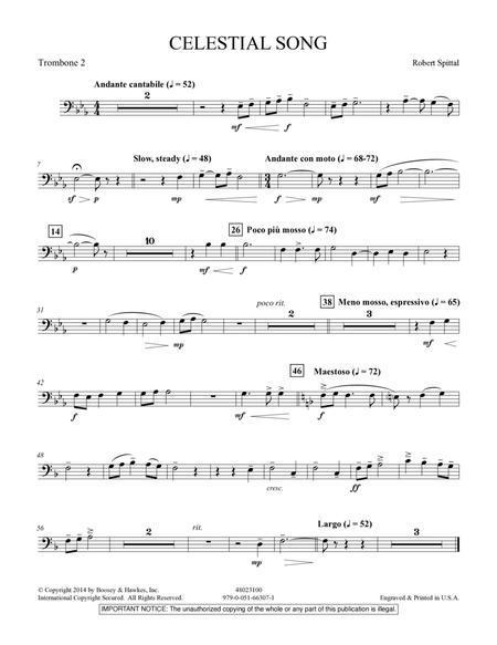 Celestial Song - Trombone 2