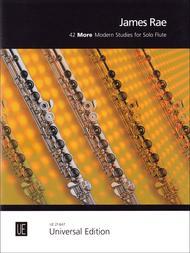 42 More Modern Studies for Solo Flute